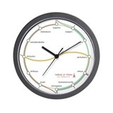 tokyo jr lines Wall Clock