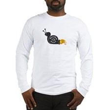 Evil Turbo Snail Long Sleeve T-Shirt