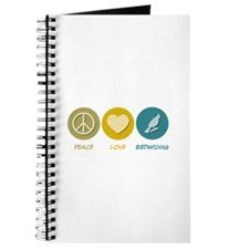 Peace Love Birdwatching Journal