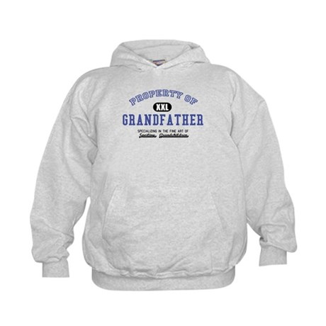 Property of Grandfather Kids Hoodie