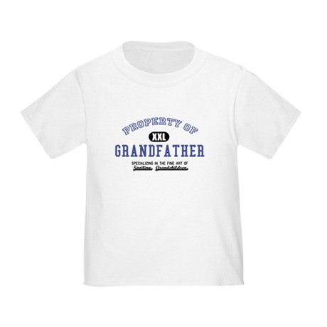 Property of Grandfather Toddler T-Shirt