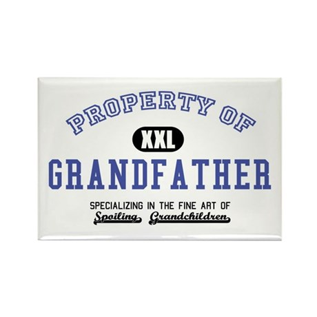 Property of Grandfather Rectangle Magnet (10 pack)