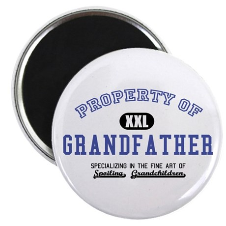 "Property of Grandfather 2.25"" Magnet (10 pack)"