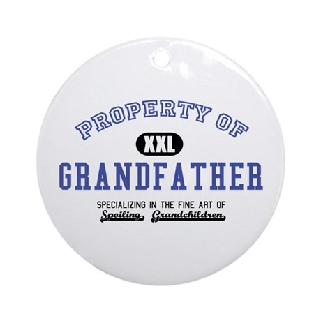 Property of Grandfather Ornament (Round)