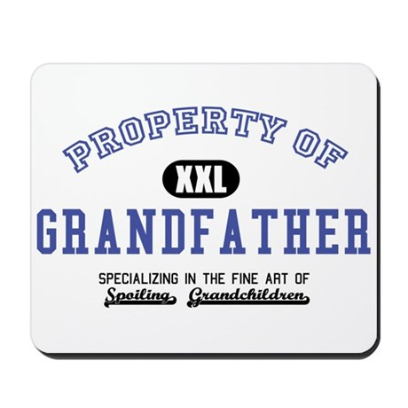Property of Grandfather Mousepad