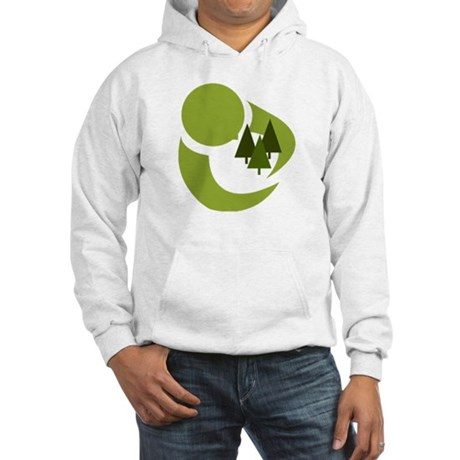 Tree Hugger Hooded Sweatshirt