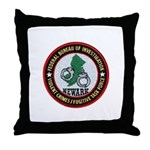 FBI Newark Throw Pillow