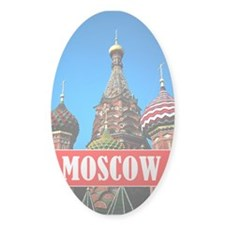 Moscow Oval Decal