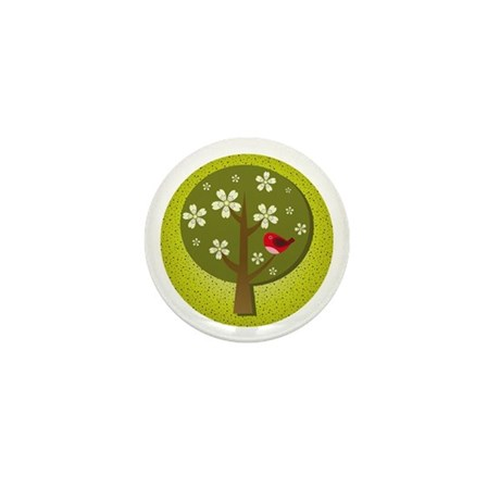 Japanese Ume Mini Button