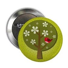 "Japanese Ume 2.25"" Button (100 pack)"