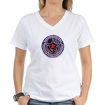 USAF R C O Women's V-Neck T-Shirt