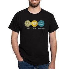 Peace Love Backgammon T-Shirt