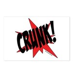CRUNK! Postcards (Package of 8)