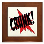 CRUNK! Framed Tile
