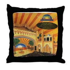 Live Dates II Throw Pillow