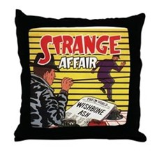 Strange Throw Pillow