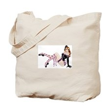 Burlesque Ballerina Tote Bag