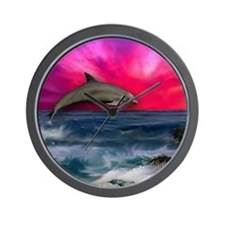 Cool Dolphin Wall Clock