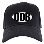Round 'European-Look' DDB Black Cap