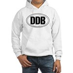 Round 'European-Look' DDB Hooded Sweatshirt