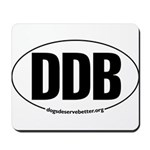 Round 'European-Look' DDB Mousepad