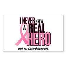 Never Knew A Hero 2 (Sister) Rectangle Sticker 50