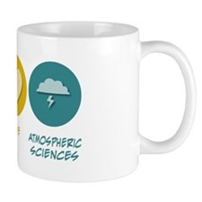Peace Love Atmospheric Sciences Mug