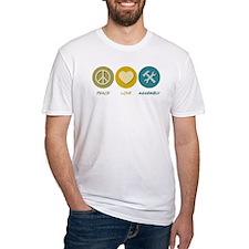 Peace Love Assembly Shirt