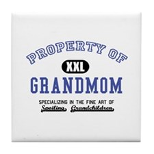 Property of Grandmom Tile Coaster