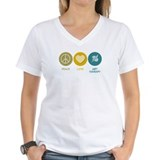 Peace Love Art Therapy Shirt