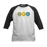Peace love artist Baseball Jersey