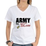 Army Mom Dog Tags Shirt