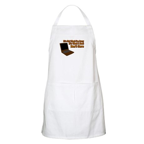 It's not that I'm lazy BBQ Apron