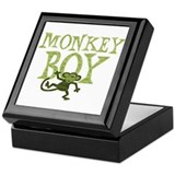 Yellow Monkey Boy Keepsake Box