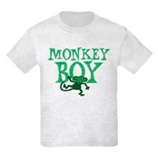 Green Monkey Boy T-Shirt