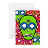 Calaveras Sugarskulls Greeting Cards (Pk of 20)