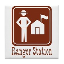 Ranger Station Tile Coaster