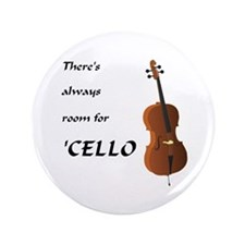 """Cello Room 3.5"""" Button (100 pack)"""