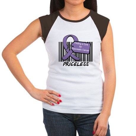 Cure For Pancreatic Cancer Women's Cap Sleeve T-Sh