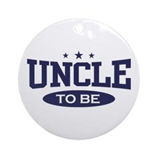 Uncle To Be Ornament (Round)