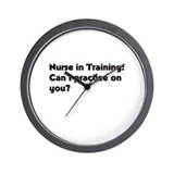 Unique Student nurse Wall Clock