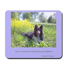 Wildflower Sheltie Mousepad
