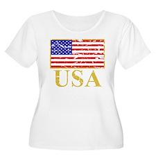 USA Flag (worn) T-Shirt