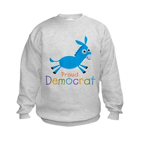 Proud Democrat Kids Sweatshirt