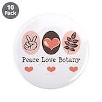 Peace Love Botany Botanist 3.5