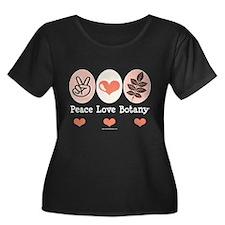 Peace Love Botany Botanist T