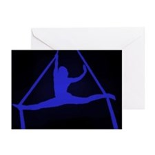 Aerial Showgirls Greeting Cards (Pk of 20)