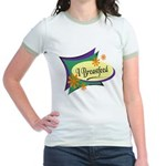 I Breastfeed Jr. Ringer T-Shirt