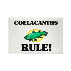 Coelacanths Rule! Rectangle Magnet (10 pack)