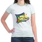 Mom's Diner Jr. Ringer T-Shirt
